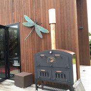 Copper Outdoor Oven Fire