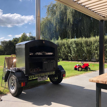 Trailer Oven out for Hire
