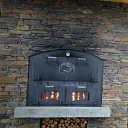 Large Oven built into Schist
