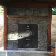 Nugget Outdoor Oven / Outdoor Fire in Schist