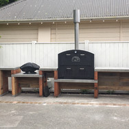 The ultimate outdoor area in Wellington showcasing The Kiwi Outdoor Oven / Outdoor Fire