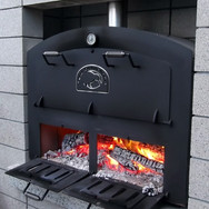 Fire Doors open for the ultimate outdoor fire