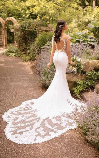 Sheath wedding dress - 100D2849