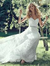 Lace A-Line wedding dress - 1006MS281