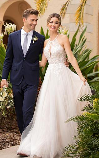 Soft Tulle Wedding Dress
