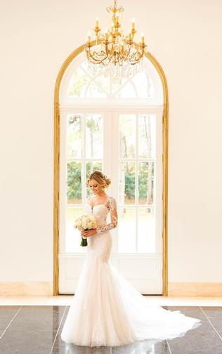 Trumpet wedding dress - 1006852