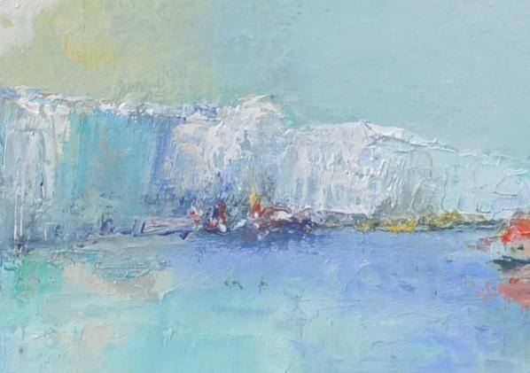 Détail du tableau Dreaming cliff