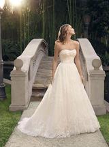 Lace ballgown