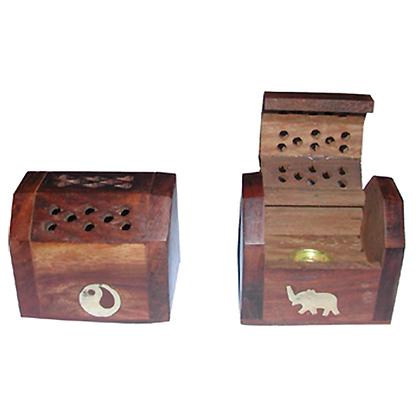 Porte encens boîte