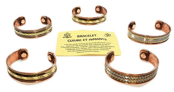 Bracelets cuivre magnétothérapie