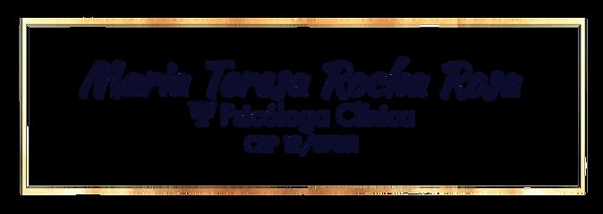 Psicoterapia Clínica moldura transparent