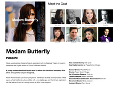 Butterfly OUP Cast and Production Staff