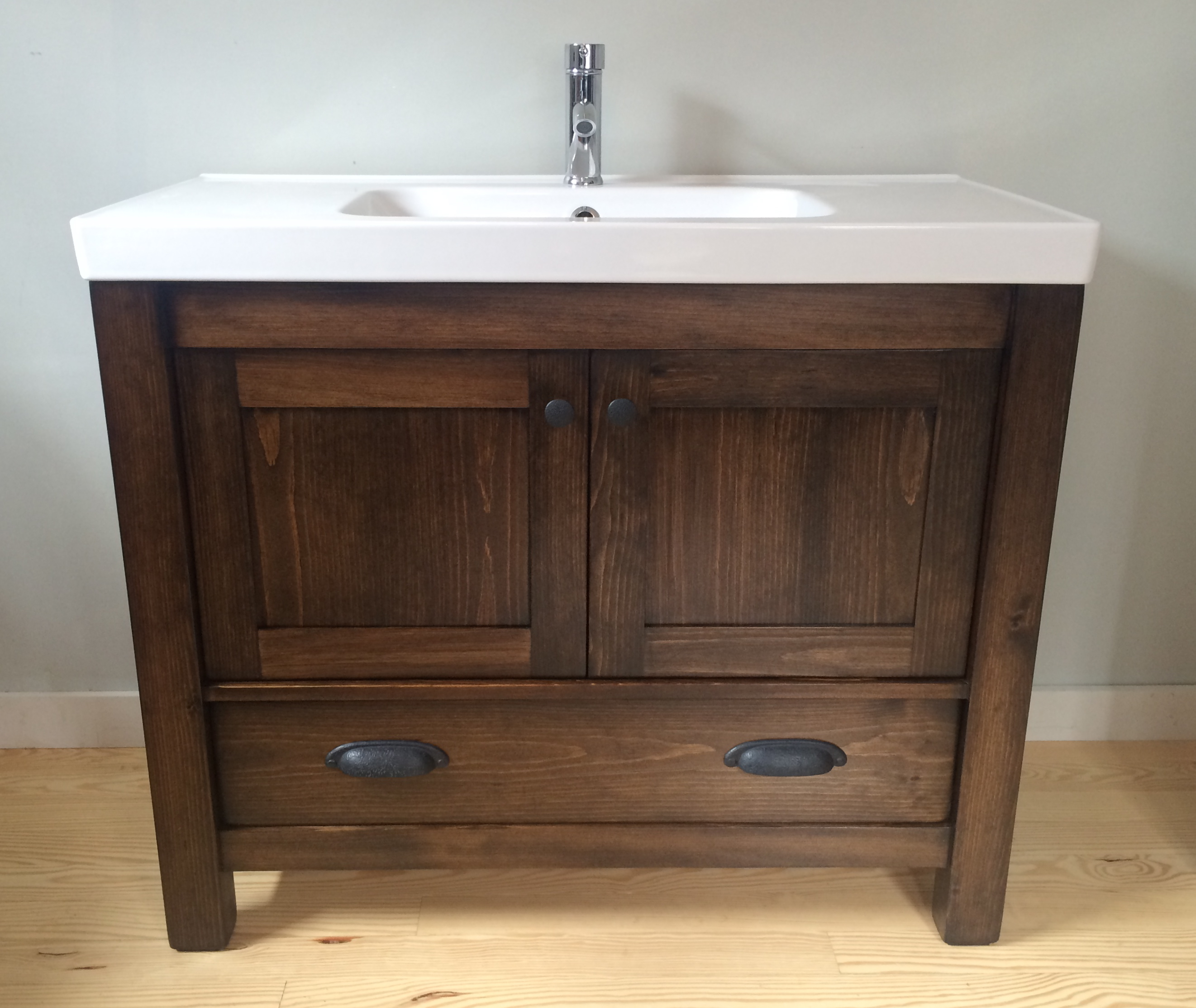 Custom Burlington Bathroom Vanity