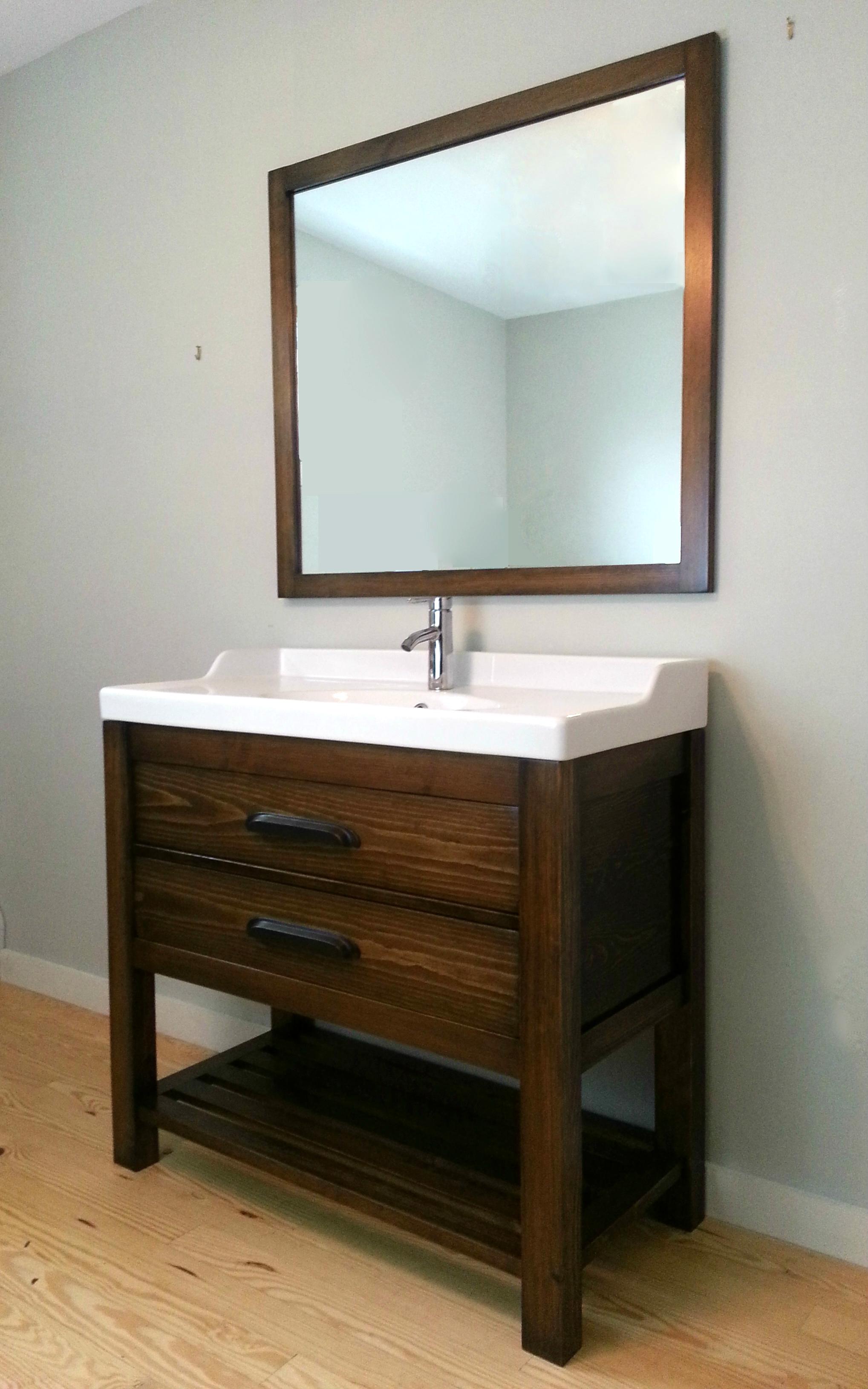 Fairfax Solid Wood Bathroom Vanity
