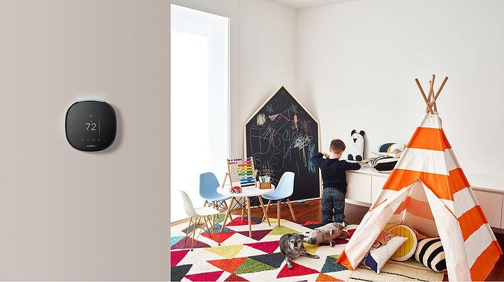 Ecobee, smart thermostat calgary