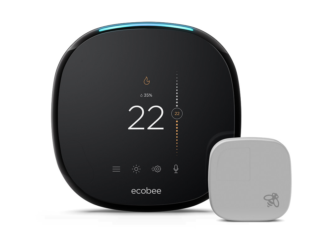 saving money with ecobee smart thermostat