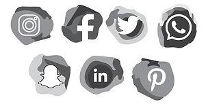 social-media-2d-icon-black--white-design