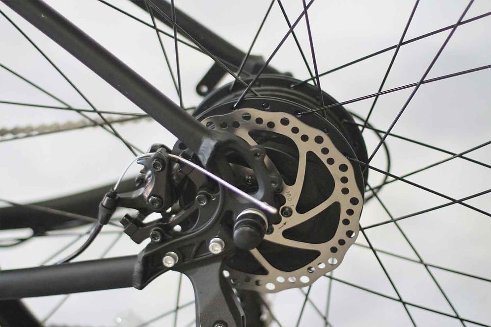 Geared Hub Motor: