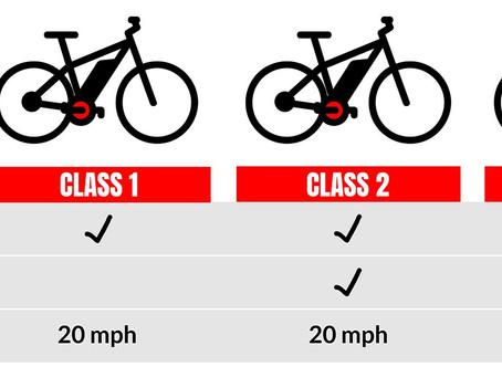 Differences Between Electric Bike Class 1 vs Class 2 vs Class 3