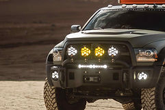 Baja Designs Lights on a Ram