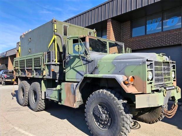 M923 5 Ton Overland Truck