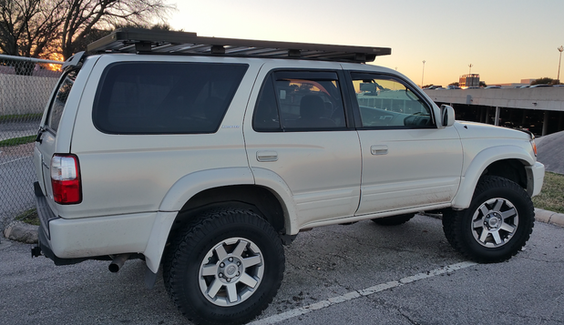 Overland Roof Rack By Front Runner