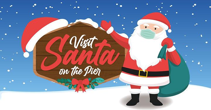 Santa on Southend Pier