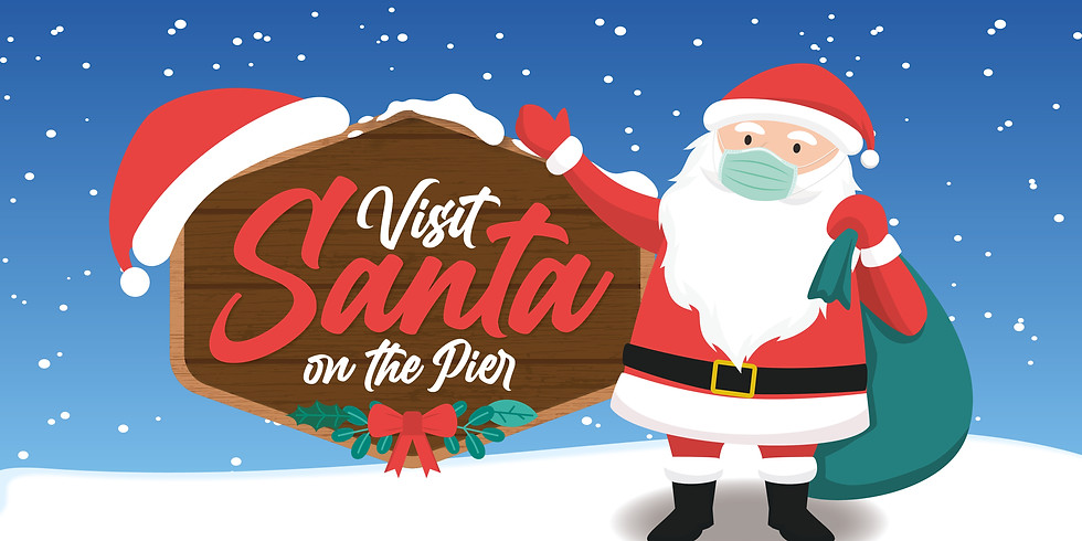 Santa on the Pier - SOLD OUT