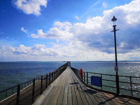 Record-breaking visitor numbers enjoy iconic pier