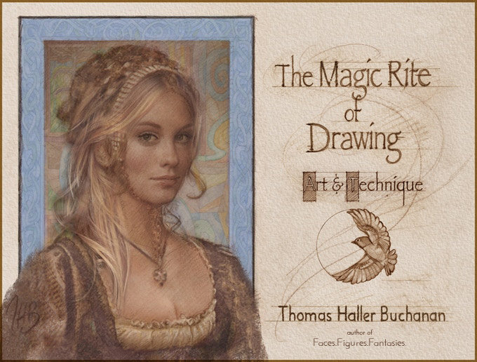 The Magic Rite of Drawing — Art & Technique (soft cover)