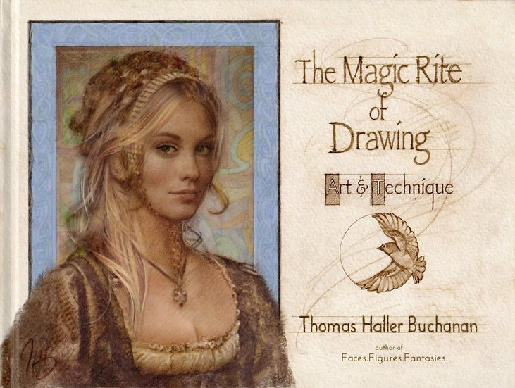 The Magic Rite of Drawing—Art & Technique (hardcover)