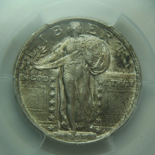 1923 Standing Liberty Quarter PCGS MS64 & CAC