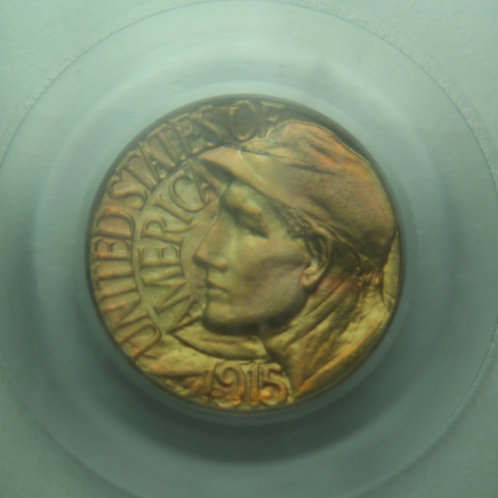 1915-S Panama Pacific Gold Dollar PCGS MS65