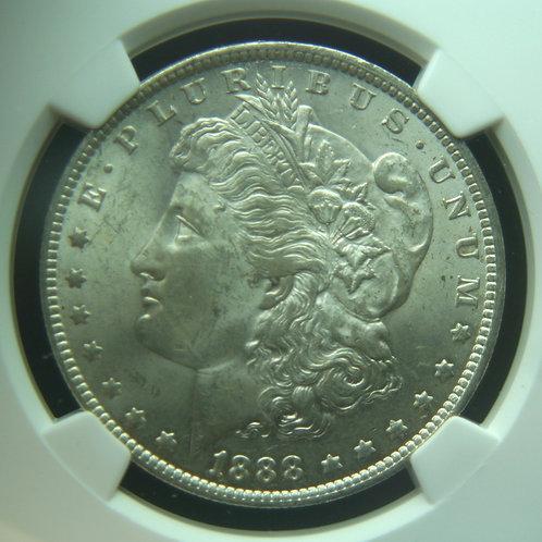 1888-O Morgan Silver Dollar NGC MS63