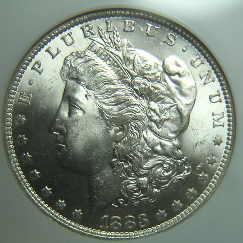 1883-O Morgan Silver Dollar NGC MS65