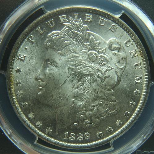 1889 Morgan Silver Dollar PCGS MS64