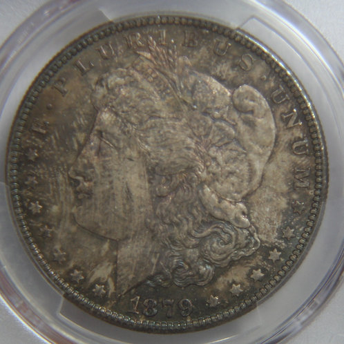 1879-S Morgan Silver Dollar PCGS MS63