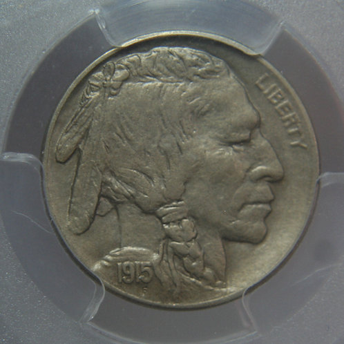 1915-D Buffalo Nickel PCGS AU55