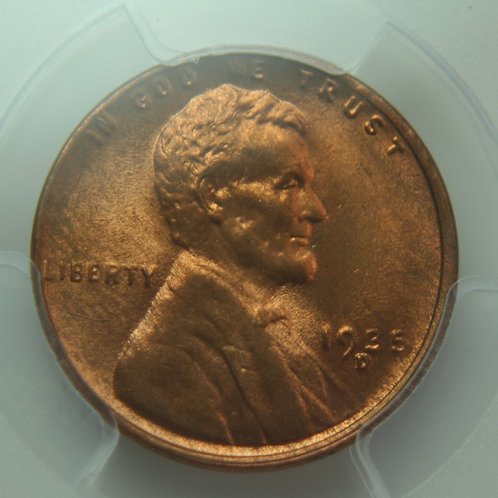1935-D Lincoln One Cent PCGS MS65 RED