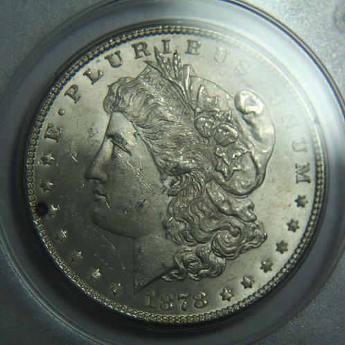 1878 7TF Reverse of 1878 PCGS MS61