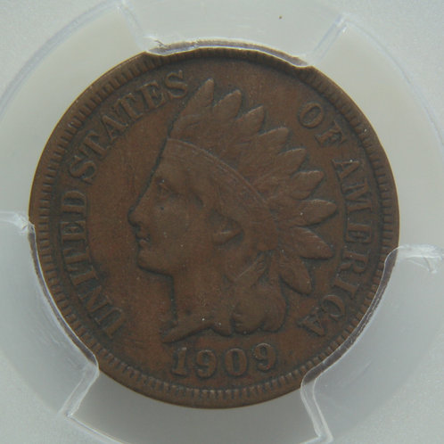 1909-S Indian Head One Cent PCGS VF30