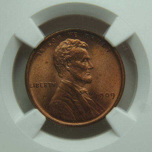 1909 Lincoln One Cent NGC MS65 RED