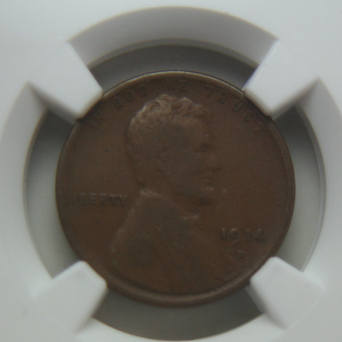 1914-D Lincoln One Cent NGC VG8
