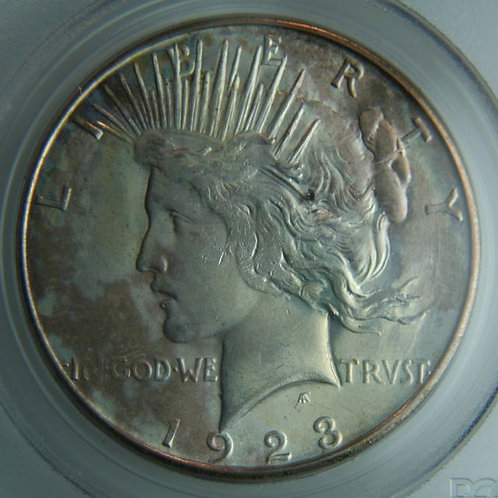 1923-S Peace Silver Dollar PCGS MS64