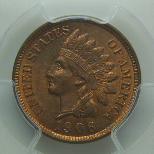 1906 Indian Head One Cent PCGS MS64RB