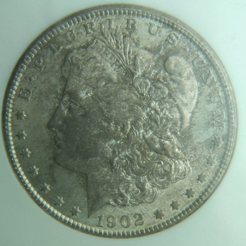1902-O Morgan Silver Dollar NGC MS64