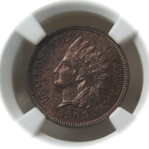 1909 Indian Head Proof Cent NGC PF64RB