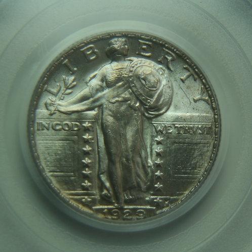 1929 Standing Liberty Quarter PCGS MS64FH