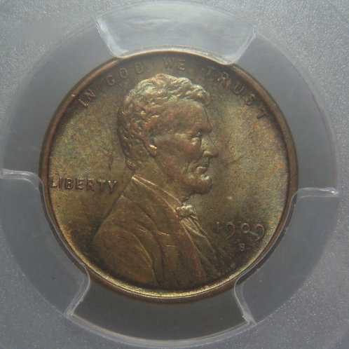 1909-S VDB Lincoln One Cent PCGS MS63BN