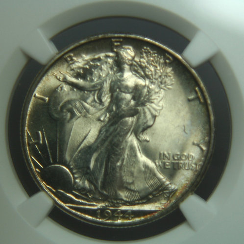 1944-S Liberty Walking Half Dollar NGC MS65